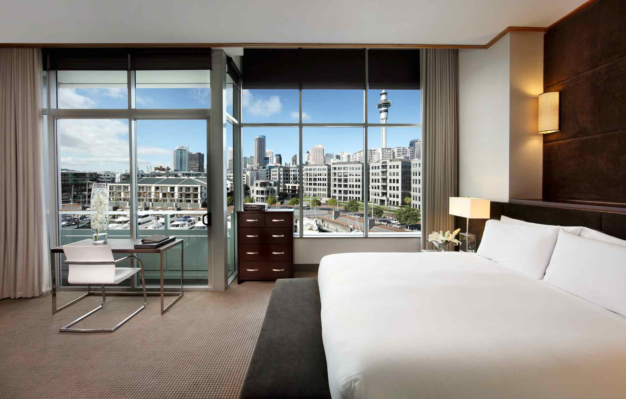 Sofitel Auckland Viaduct Harbour Hotel Room